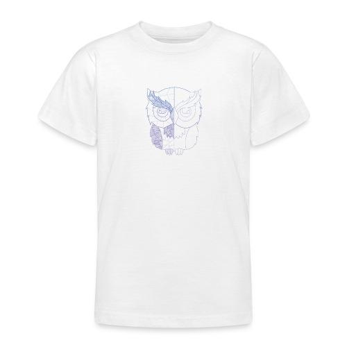 Eule - Teenager T-Shirt