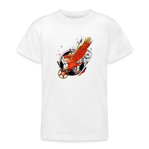 Adler mit Deutschland Stern - Teenager T-Shirt