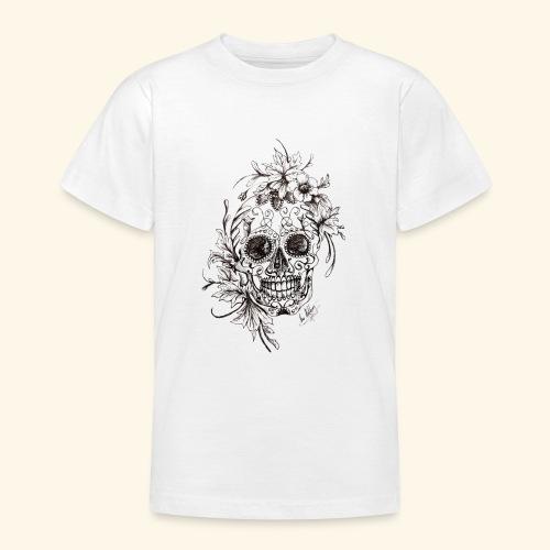 SkullDrawings - T-shirt tonåring