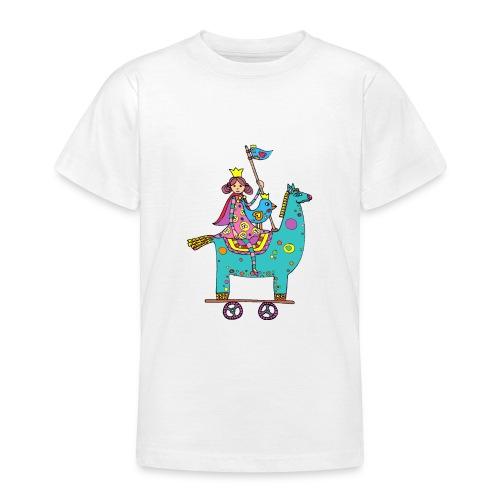 La princesse en voyage - T-shirt Ado