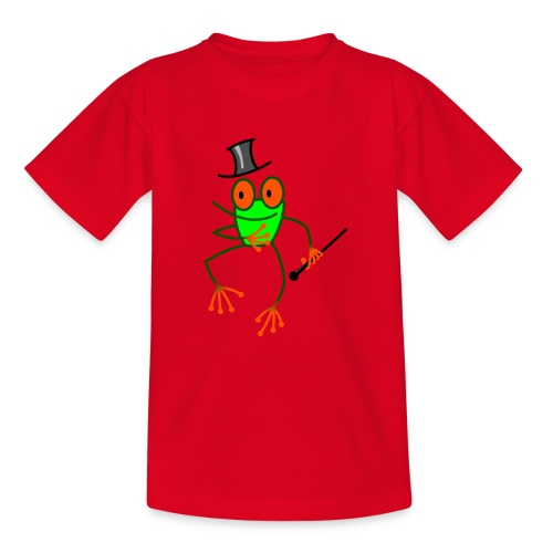 Dancing Frog - Teenage T-Shirt