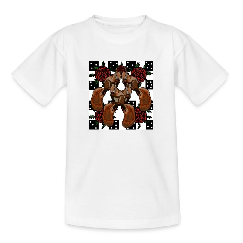 Cute Squirrels - Teenager-T-shirt