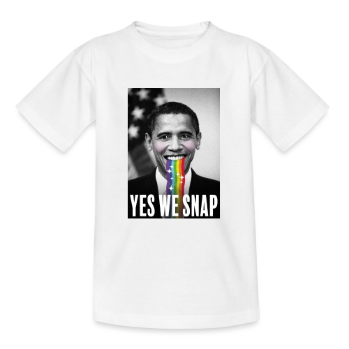 Obama snaps - T-shirt Ado