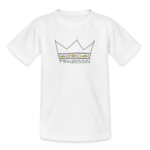 Prinzessin - Teenager T-Shirt