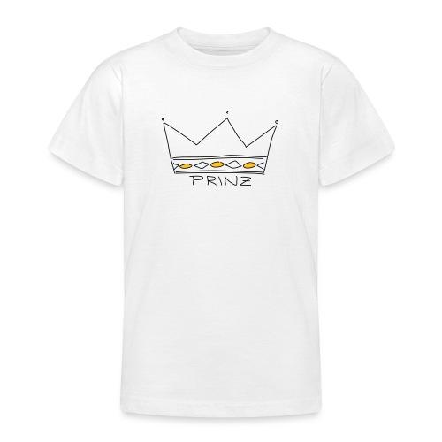 Krone Prinz - Teenager T-Shirt