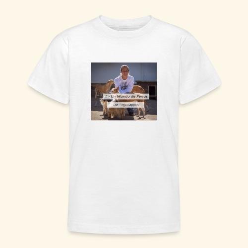 en un mundo de perros con borja capponi - Camiseta adolescente