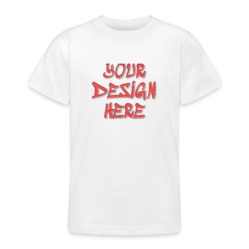 textfx - T-shirt tonåring