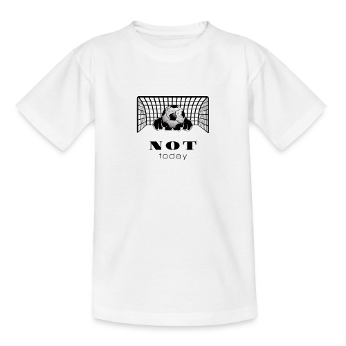 not today /black - Teenager T-Shirt