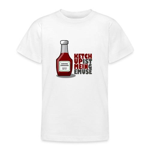 Ketchup ist mein Gemüse (Grillshirt) - Teenager T-Shirt