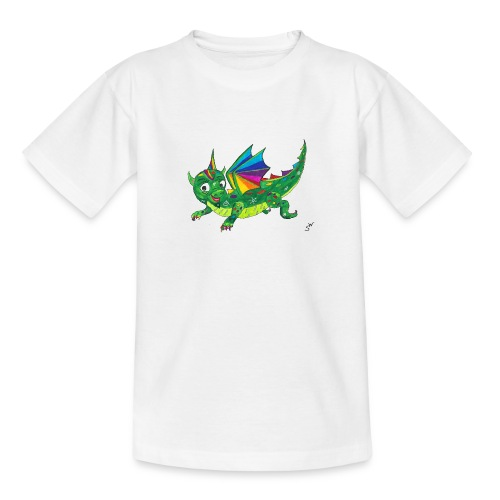 happy dragon - Teenager T-Shirt