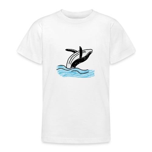 Wal - Whale - Ocean - Meer - Sea - Teenager T-Shirt