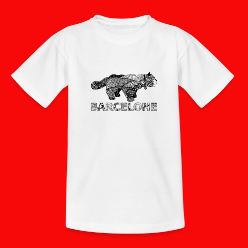 LOGO CAT RAVAL - T-shirt Ado