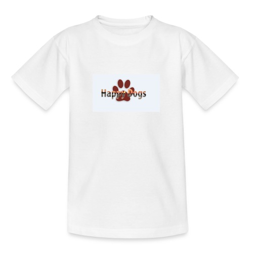 Happy dogs - Teenager T-Shirt