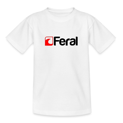 Feral Red Black - Teenage T-Shirt