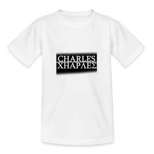 CHARLES CHARLES BLACK AND WHITE - Teenage T-Shirt