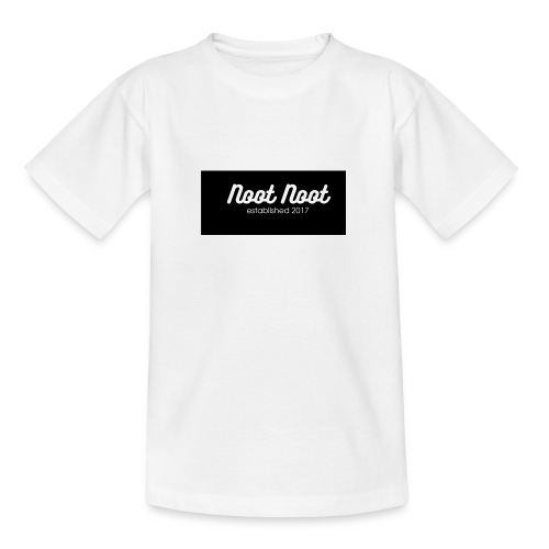 Noot Noot established 2017 - Teenage T-Shirt
