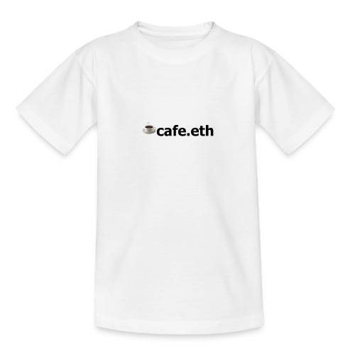 ☕cafe.eth - Teenager T-Shirt
