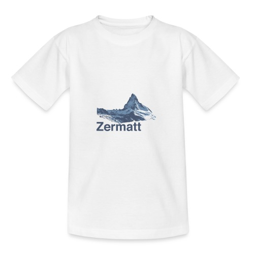 Zermatt Switzerland - Teenager T-Shirt