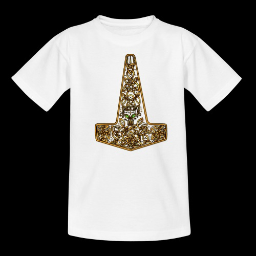 Wolf of Tyr - Gold - Teenage T-Shirt