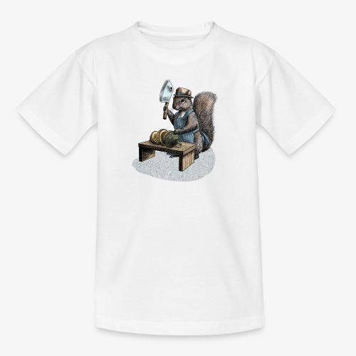 Squirrel nut cracker - Teenage T-Shirt