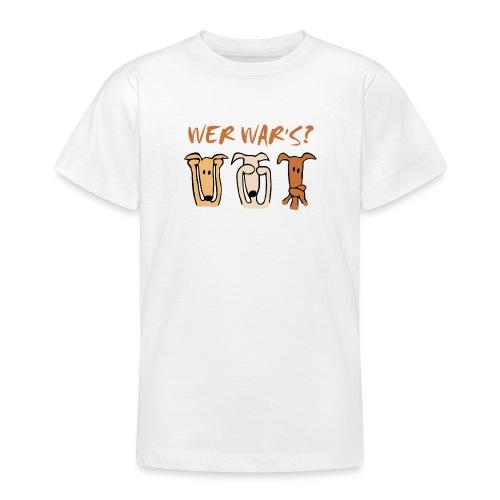 Wer war's? - Teenager T-Shirt