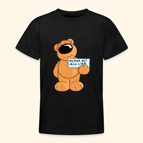 chris bears Keiner hat mich lieb - Teenager T-Shirt