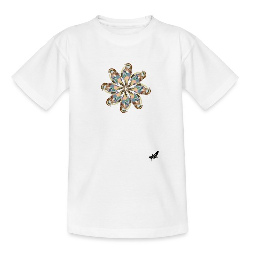 'Sparrow Mandala' by BlackenedMoonArts, w. logo - Teenager-T-shirt