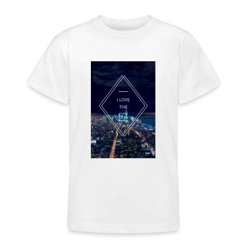 I LOVE THE CITY ! - Teenager T-Shirt