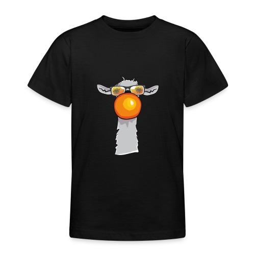 Chewing Llama - Teenager T-Shirt