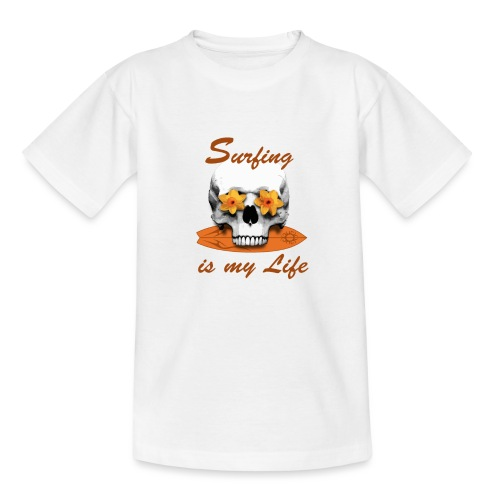 Surfing is my Life - Teenager T-Shirt