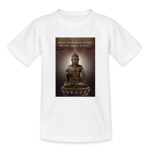 Peace from Within - Teenage T-Shirt