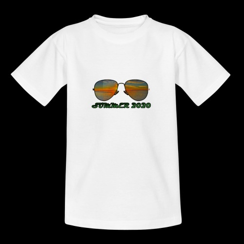 Summer 2020 Beach Vacation Sunglasses - Teenager T-Shirt