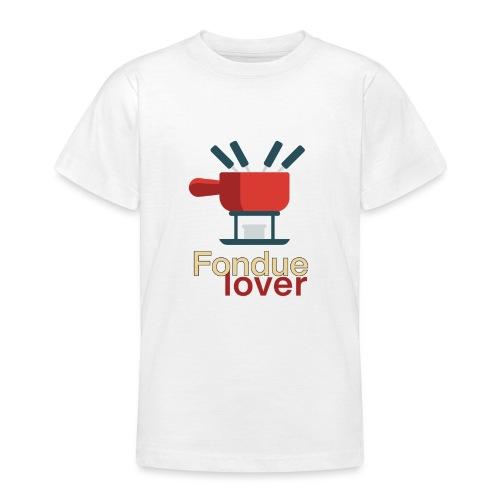Fondue lover - T-shirt Ado