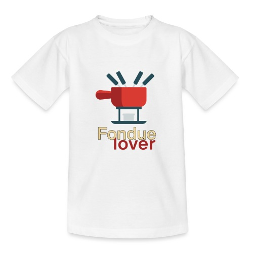 Fondue lover - Teenager T-Shirt