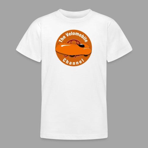 The Velomobile Channel logo - Nuorten t-paita