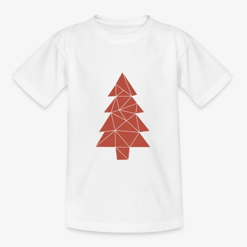 Tannenbaum Weihnachten - Teenager T-Shirt