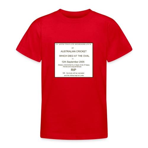 ashesobit - Teenage T-Shirt