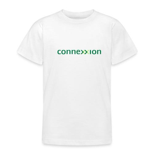 Connexxion 2 kleuren logo - Teenager T-shirt