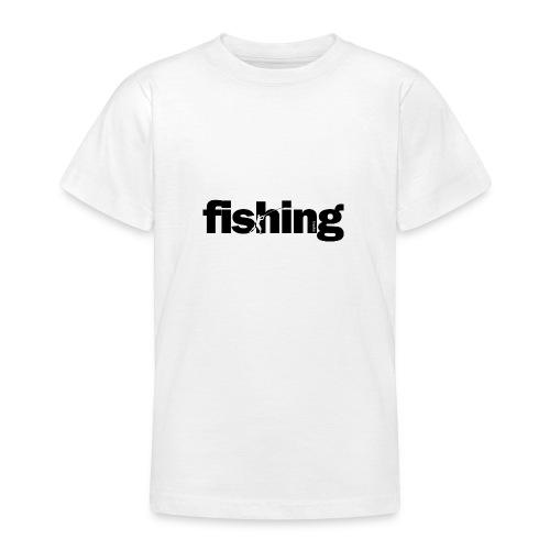 Word Fishing - Camiseta adolescente
