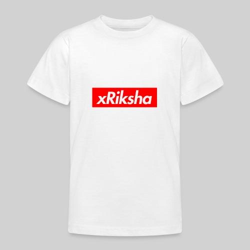 xRiksha - Box logo - Nuorten t-paita