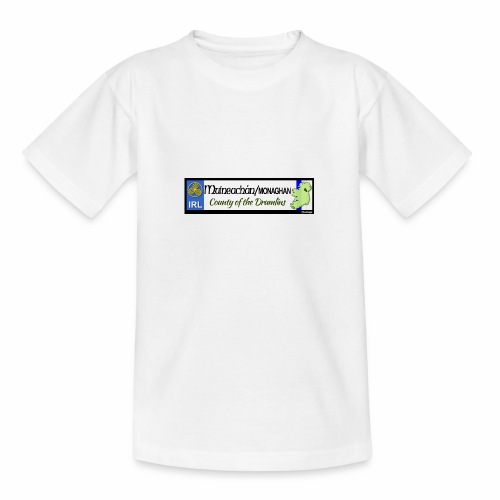MONAGHAN, IRELAND: licence plate tag style decal - Teenage T-Shirt