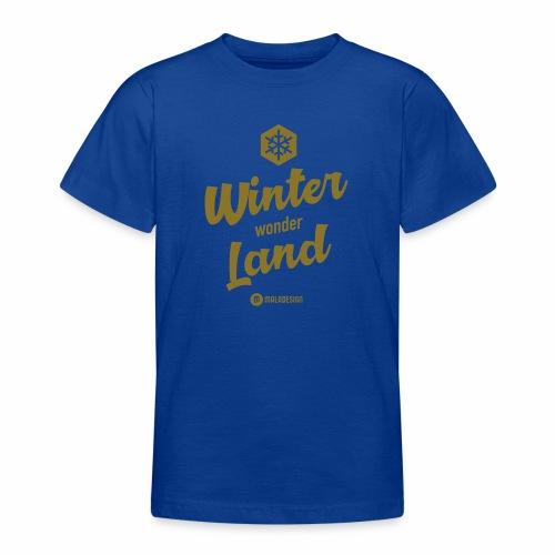 Winter Wonder Land - Nuorten t-paita