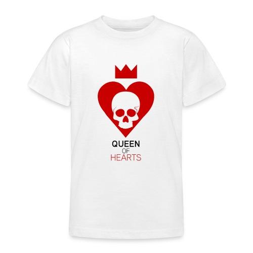 Tee shirt manches longues Reine des Coeurs - T-shirt Ado
