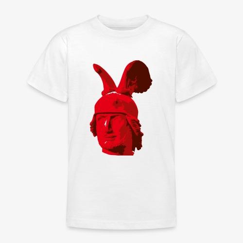 Kopf des Hermannsdenkmals - Teenager T-Shirt