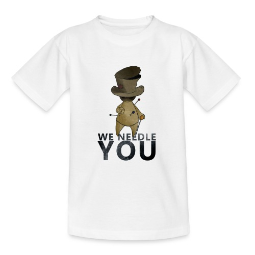 WE NEEDLE YOU - T-shirt Ado