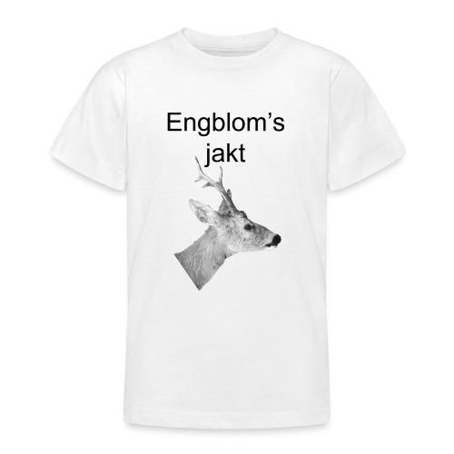 Officiell logo by Engbloms jakt - T-shirt tonåring
