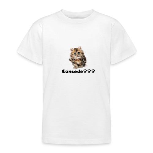 Concede kitty - T-skjorte for tenåringer