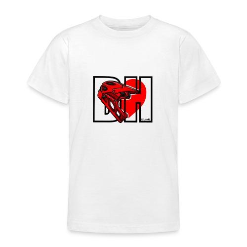 I love Downhill - Camiseta adolescente