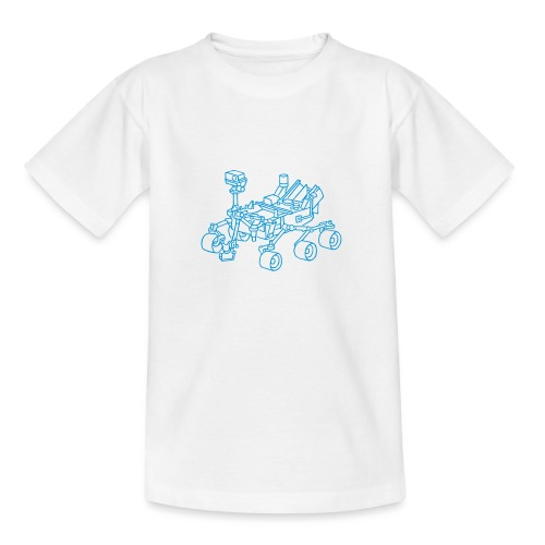 Curiosity, der Marsrover - Teenager T-Shirt