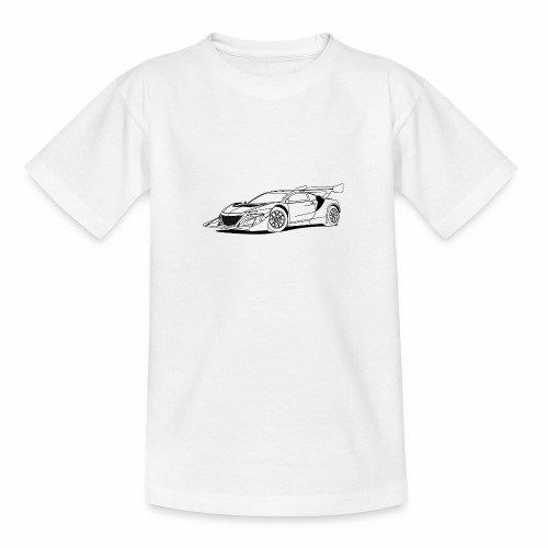 Concept Car White - Teenage T-Shirt